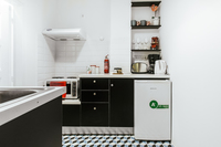 KaritsiPlaceAptGreen Kitchen