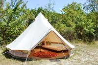Maasai Mara Bell Tent Exterior