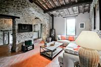 CarmineResidence Farm house Sitting Room with log burner