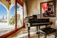 SandcastleVilla Living Room Piano47